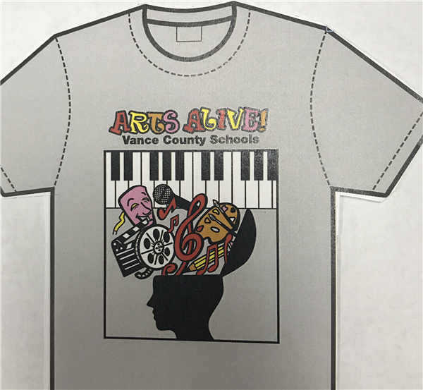Arts Alive T-shirts Available
